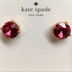 Kate Spade Fuschia Stud Earrings